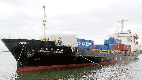 【グラビア】熊本港、韓国・釜山航路が週3便に