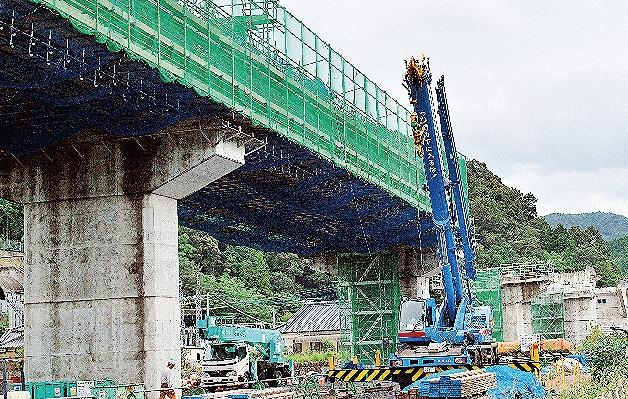 【グラビア】2018年度内の開通目指し、津奈木―水俣間の工事進む