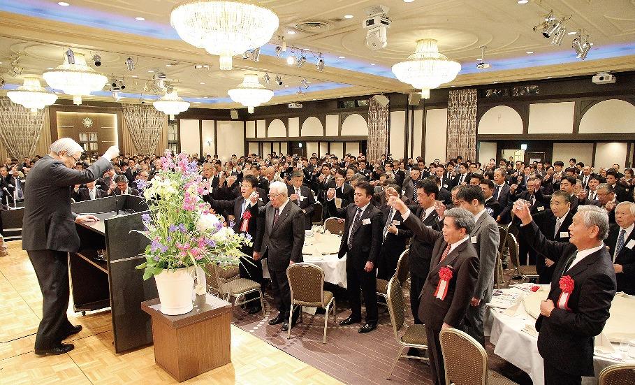 【グラビア】会社 設立40周年記念に過去最高の660人・・・2018くまもと経済レセプション
