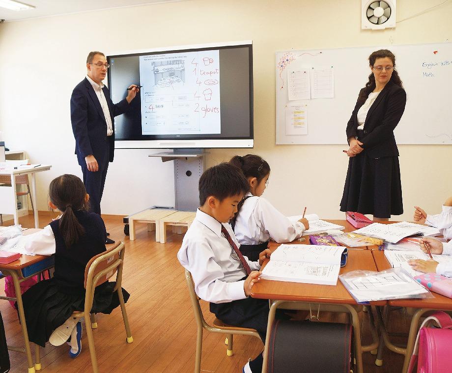 【グラビア】義務教育に新風・・・熊本インターナショナルスクール