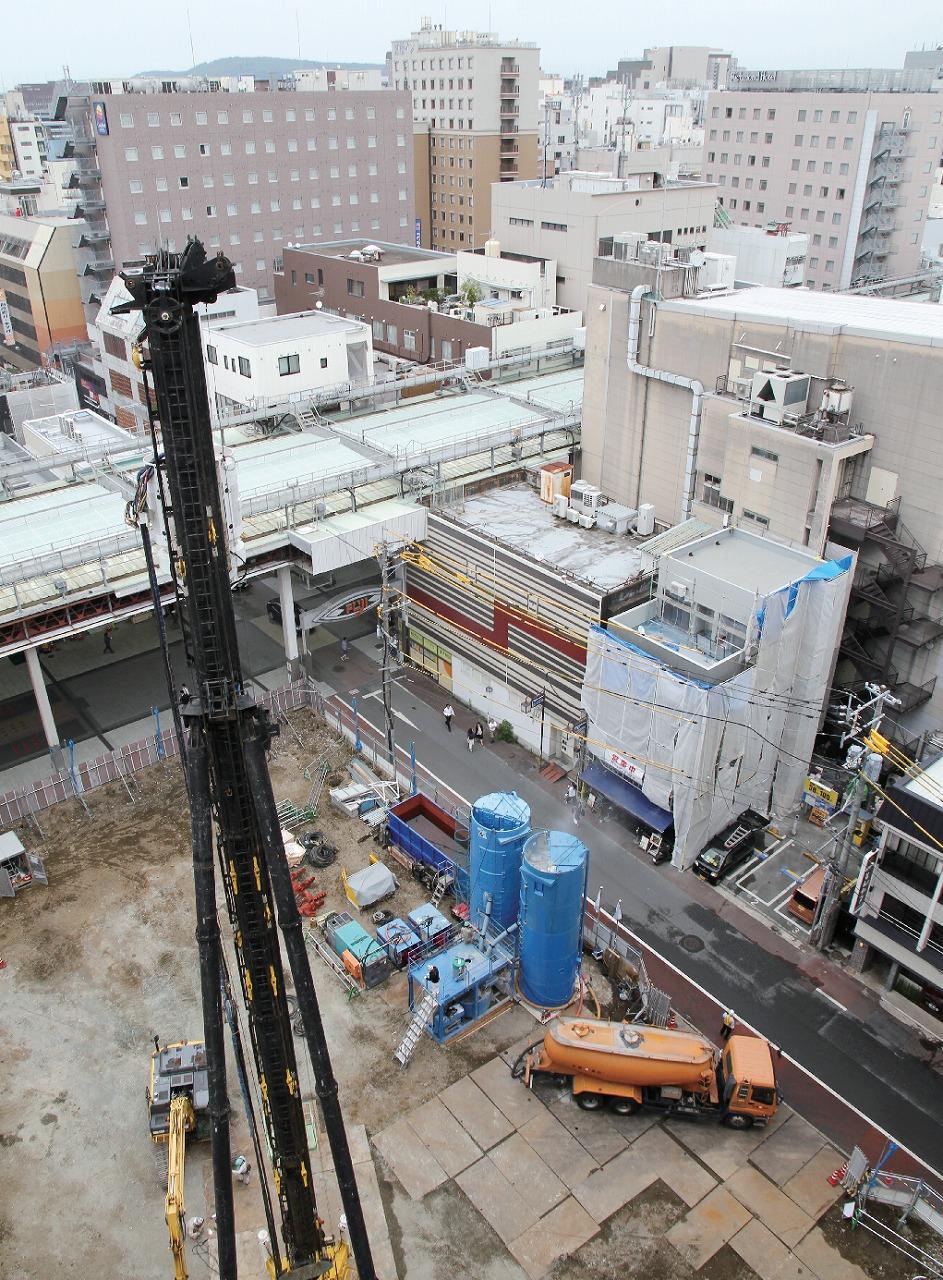 【グラビア】熊本市中心部、相次ぐホテル建設