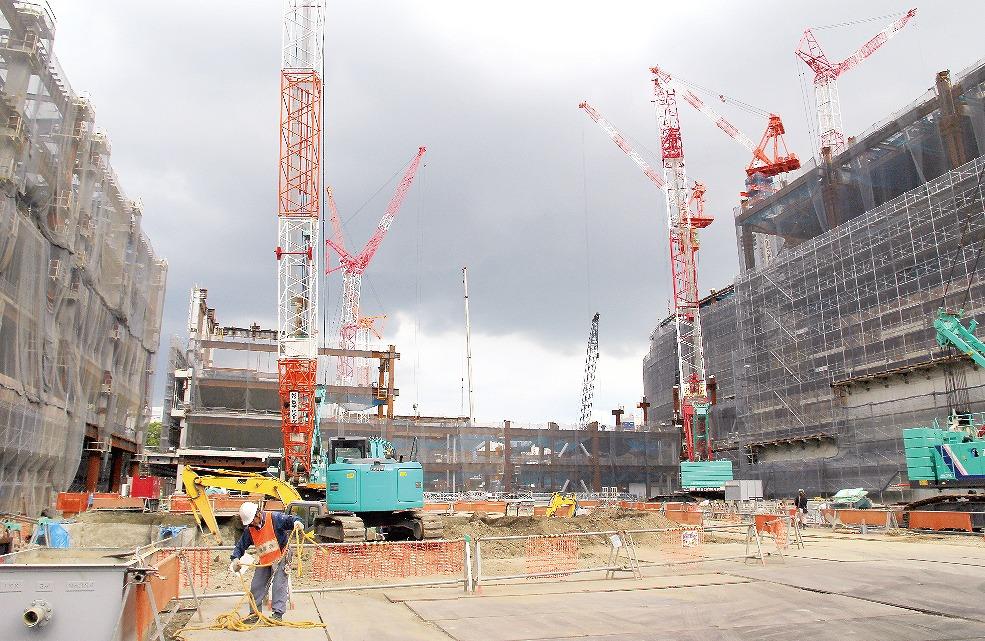 【グラビア】開業まで1年、威容現す「桜町」・・・桜町再開発