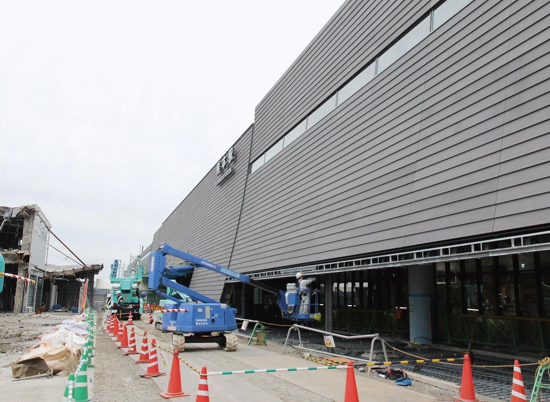 【グラビア】新熊本駅舎「武者返し」、来春完成へ・・・「熊本駅・上熊本駅」周辺