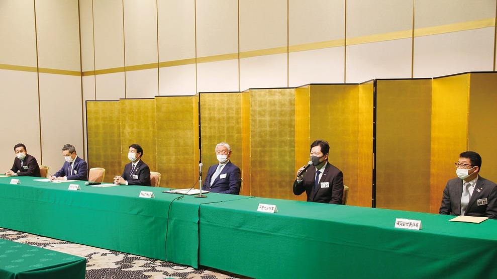 【グラビア】代表幹事「笠 原 ・ 平 田 」新 体 制 ス タ ー ト・・・ 熊本経済同友会