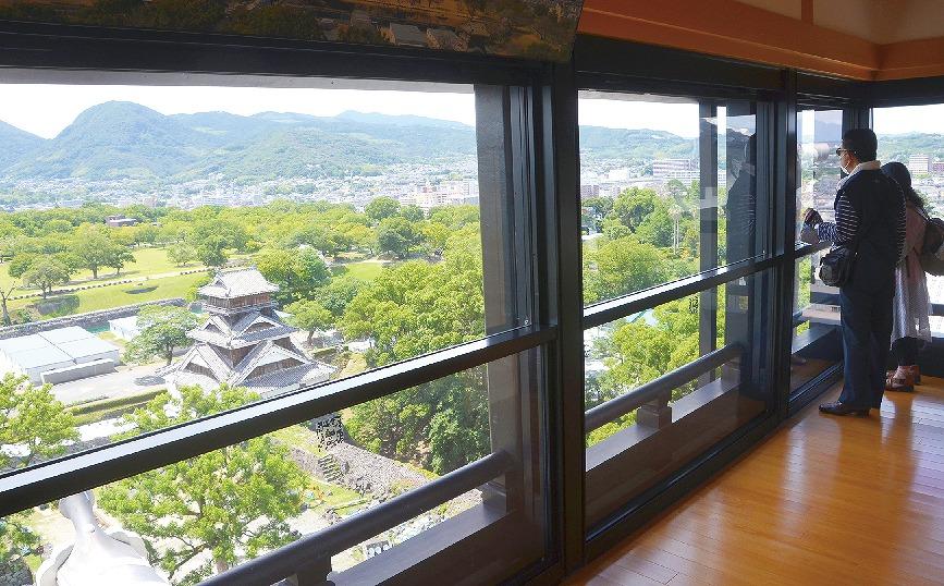 【グラビア】城 下 の 眺 望  復 活・・・熊本城