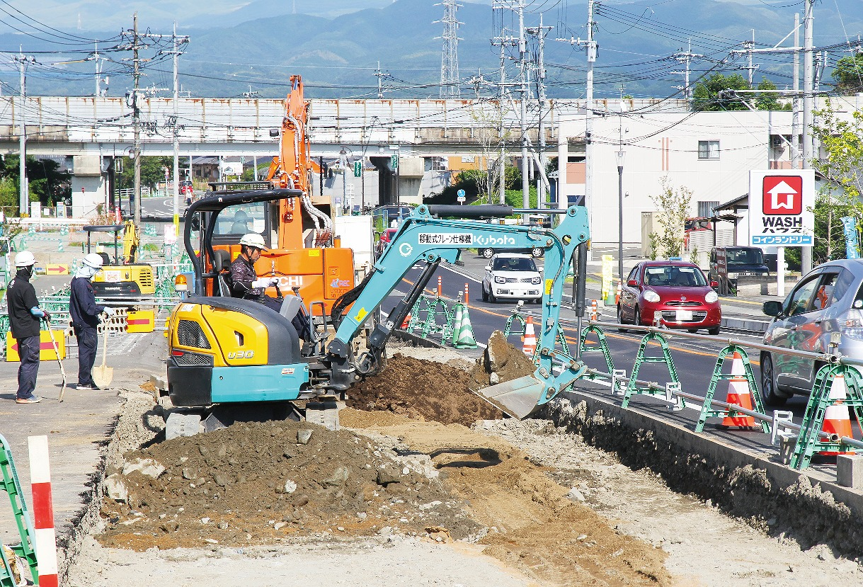 【グラビア】『県道熊本高森線』1・6㎞先行開通へ車道着手